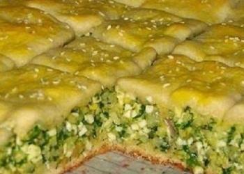 Pīrāgs ar zaļumiem