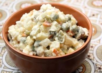 "Klasiskie salāti ""Olivjē"""