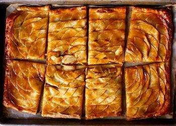 Karameļu ābolu pīrāgs
