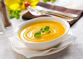 Суп из клюквы и тыквы