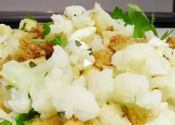 Ziedkāpostu karstie salāti - VIDEO RECEPTE
