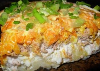 Aknu salāti ar kartupeļiem un burkāniem