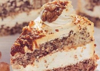 Lazdu riekstu – putukrējuma torte
