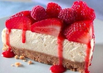 """""""Selgas"""" cepumu jogurta – ogu kūka ar biezpienu"""