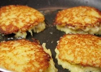 Kartupeļu plācenīši ar gaļu