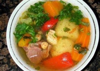 Šurpa - jēra gaļas zupa