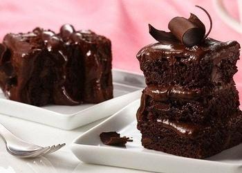 Ātrais kefīra-šokolādes pīrāgs