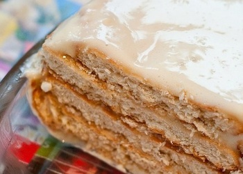 Viegli un ātri pagatavojama cepumu torte bez cepšanas