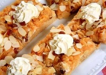 Smilšu kūka ar mandelēm