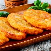Rīvētu kartupeļu pankūkas