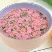 Холодный свекольный суп