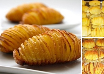 Kartupeļi ar sieru zviedru gaumē