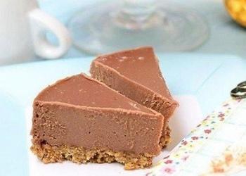 Neceptā šokolādes – sukāžu kūka