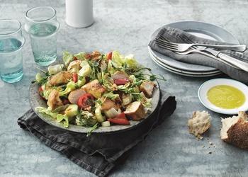 Siltie vistas krūtiņas salāti