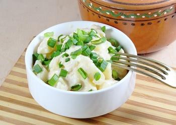 Kartupeļi pienā