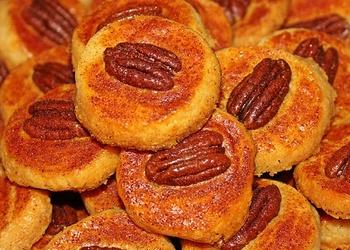 Siera cepumi ar pekanriekstiem