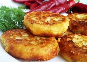 Kartupeļu un zivju kotletes