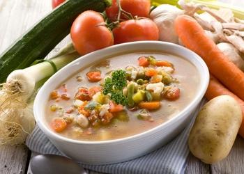 Zupa čehu - slovāku gaumē