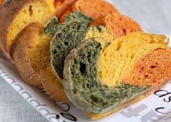 Krāsainā maize (bez krāsvielām)