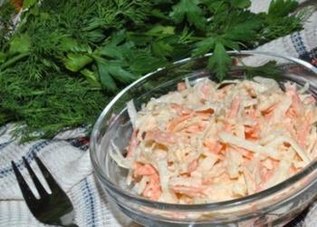Rutku un burkānu salāti