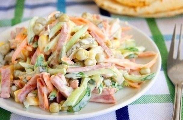 Салатики вкусные и простые с фото