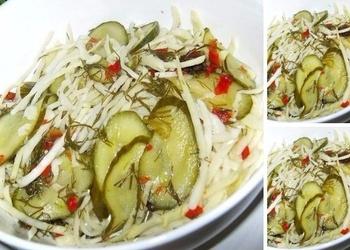 Kāpostu salāti marinādē