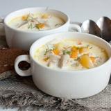 Viegli pagatavojama siera zupa ar vistu