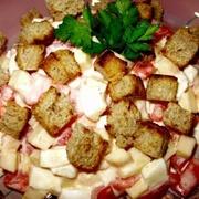 Siera salāti ar tomātiem