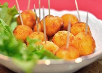 Burkānu - kartupeļu bumbiņas