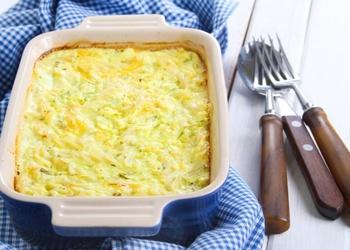 Kārtainais dārzeņu sacepums ar sieru