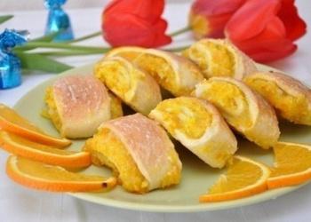 Mīkstie apelsīnu cepumi