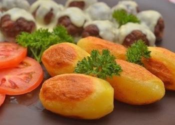 Cepti kartupeļi franču gaumē