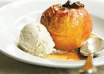 Cepti āboli ar putukrējumu vai saldējumu