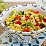 Zivju salāti ar kukurūzu