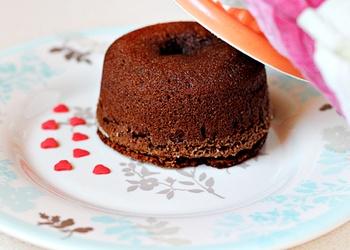 Šokolādes kēksiņi ar šokolādes pildījumu