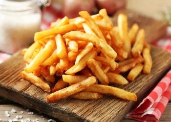 Frī kartupeļi bez taukiem un eļļas