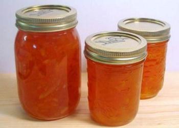 Burkānu – apelsīnu ievārījums