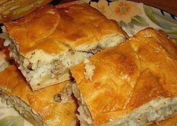 Maltās gaļas pīrāgs