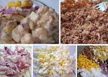 Tunča salāti ar rīsiem