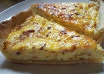 Быстро и вкусно - сырный пирог