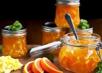 Ābolu ievārījums ar apelsīniem