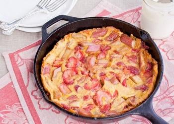 Zemeņu omlete