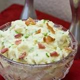 Kartupeļu biezenis ar speķi īru gaumē