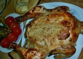 Gards, aromātisks vistas cepetis