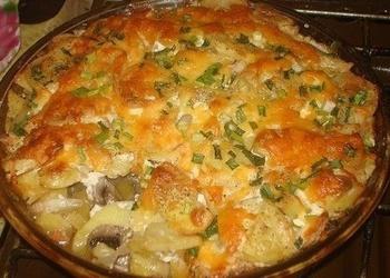 Viegli pagatavojami krāsnī cepti kartupeļi
