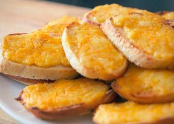 Apceptas maizītes ar sieru