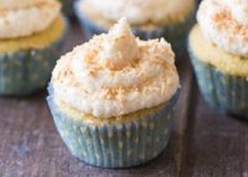 Bez glutēna kēksiņi ar vaniļu un kokosriekstiem