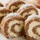 Šokolādes-kokosriekstu rulete