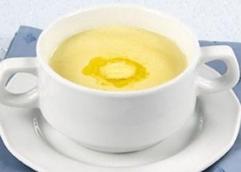 Piena zupa ar mannu