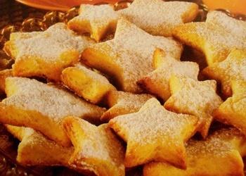 Ātri pagatavojami cepumi - Sviesta zvaigznītes